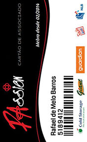 Cartão de associado - Cartão de associado na grande sp