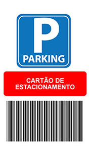 Cartão de estacionamento - Cartão de estacionamento na grande sp